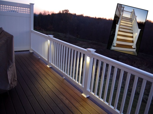 Photo of deck townhouse composite